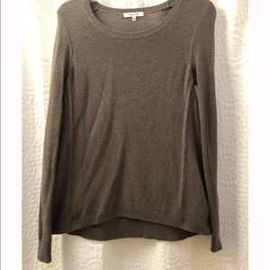 Madewell green pullover sweater